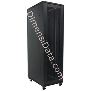Picture of Rack Server INDORACK 20U Perforated Door [IR6020P]