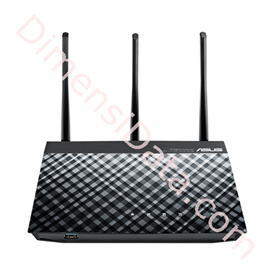 Jual Wireless Router ASUS RT-N18U