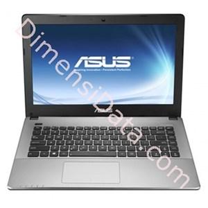 harga Notebook ASUS A455LF-WX049D BLACK Dimensidata.com
