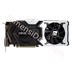 Jual VGA Card POWERCOLOR AMD R9 390X DEVIL HYBRID