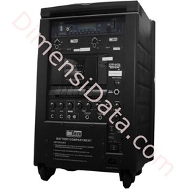 Jual Speaker Portable AUBERN PA System U1002ST