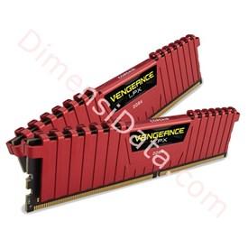 Jual Memori Desktop CORSAIR CMK16GX4M2B3200C16R (2X8GB) RED