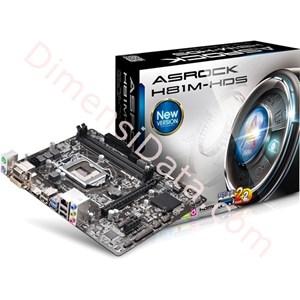 Picture of Motherboard ASRock Socket 1150 [H81M-HDS]