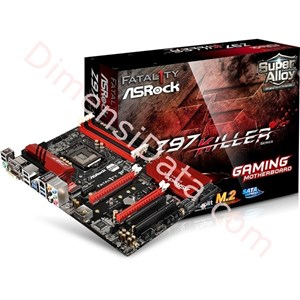 Picture of Motherboard ASRock Socket 1150 [Fatal1ty Z97 KILLER]
