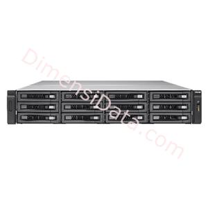 Picture of Storage Server QNAP TVS-EC1280U-SAS-RP-16G