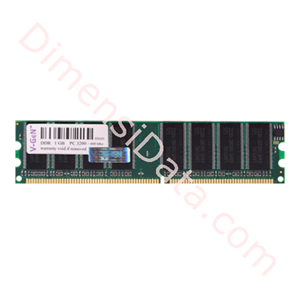 Picture of Memory Desktop V-GEN DDR 1 GB PC-3200