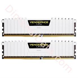 Jual Memori Desktop CORSAIR CMK16GX4M2B3200C16W (2X8GB) White