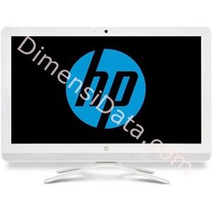 Picture of Desktop All in One HP 20-C005D (W2U52AA)