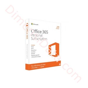 Picture of MICROSOFT Office 365 Personal 32-bit/64-bit (QQ2-00036)