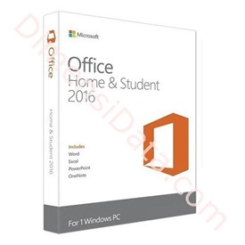 Jual MICROSOFT Office Home and Student 2016 APAC EM Medialess (79G-04363)