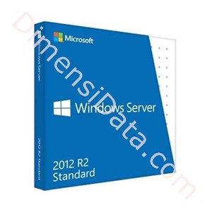 Picture of Windows Server Standard 2012 R2 64Bit DVD 5 Clt (P73-05966) FPP