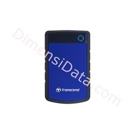 Jual Hard Drive Transcend StoreJet 25H3 USB 3.0 2TB (TS2TSJ25H3B) Blue