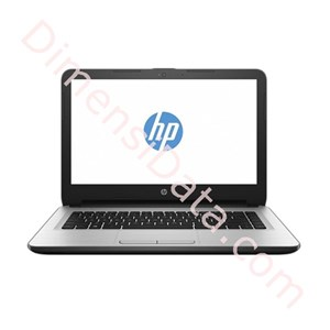 Picture of Notebook HP 14-am015TX DOS (W6U00PA) SILVER