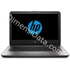 Jual Notebook HP 14-am015TX DOS (W6U00PA) SILVER