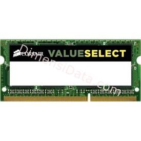 Jual Memory Notebook CORSAIR DDR3L CMSO2GX3M1C1600C11 (1x2GB)
