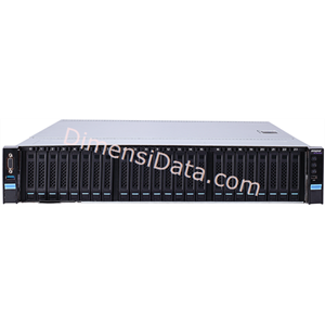 Picture of Server INSPUR NF5280M4 (C2312H-R800-M3245)