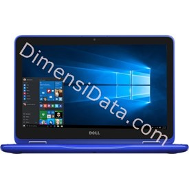 Jual Notebook DELL INSPIRON 3162 (N3060 Win10) Blue