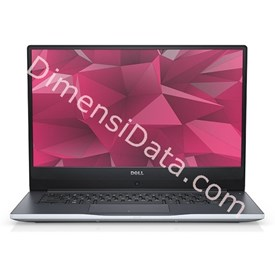 Jual Notebook DELL INSPIRON 7460 (i7-7500U Win10) GOLD