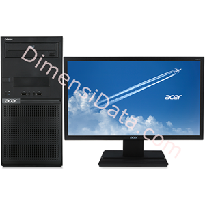 Picture of Desktop PC ACER EXTENSA M2711 (G4400) LCD 19.5  Inch