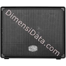 Jual Case Desktop Cooler Master Elite 110 Advanced Version