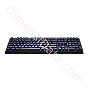 Picture of Gaming Keyboard COOLER MASTER Quick Fire XTi (Blue/Brown Switch)