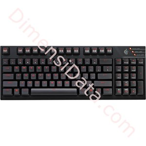 Picture of Gaming Keyboard COOLER MASTER Quick Fire TK (Brown/Red/Blue)