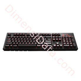Jual Gaming Keyboard COOLER MASTER Quick Fire Ultimate (Brown/Blue)