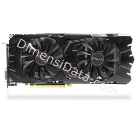 Jual VGA GALAX nVidia Geforce GTX 1070 EX