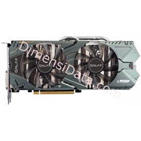Jual VGA GALAX nVidia Geforce GTX 970 EXOC 4GB DDR5 Black Edition