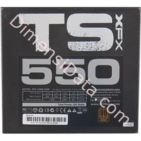 Jual Power Supply XFX TS Series 550W 80+ GOLD P1-550G-TS3X