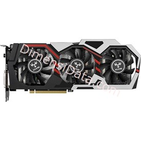 Jual Graphics Card COLORFUL iGame GTX 1070 U-TOP-8G
