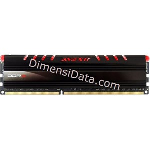 Picture of Memory Avexir DDR3 Core Red PC12800 4GB (1x4GB) - AVD3U16001104G-1CIR
