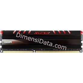 Jual Memory Avexir DDR3 Core Red PC12800 4GB (1x4GB) - AVD3U16001104G-1CIR