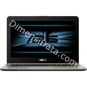 Picture of Notebook ASUS VivoBook Max X441UA-WX095D Black