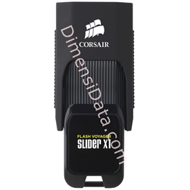 Jual Flash Disk CORSAIR Voyager Slider CMFSL3X1-16GB