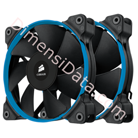 Jual Fan Corsair SP120 PWM (CO-9050014-WW) Dual Pack
