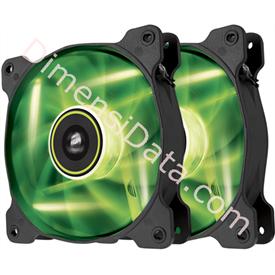 Jual Fan Corsair SP120 GREEN LED (CO-9050032-WW) Dual Pack