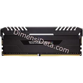 Jual Memory Desktop CORSAIR Vengeance RGB DDR4 CMR32GX4M4C3000C15 (4X8GB)
