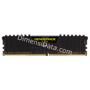 Picture of Memory Desktop CORSAIR CMK16GX4M1A2666C16 (1x16GB)