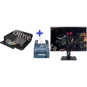 Picture of Desktop ASUS VivoMini VC65-G4400WD + 18.5  Inch+Epson TM-U220