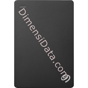 Picture of Hard Drive External SEAGATE BACKUP PLUS SLIM 2.5  Inch 1TB (STDR1000300) BlLACK +Pouch