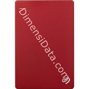 Picture of Hard Drive External SEAGATE BACKUP PLUS SLIM 2.5  Inch 1TB (STDR1000303) RED +Pouch