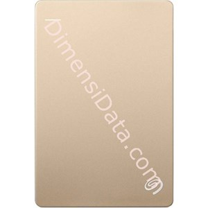 Picture of Hard Drive External SEAGATE BACKUP PLUS SLIM 2.5  Inch 1TB (STDR1000309) GOLD +Pouch