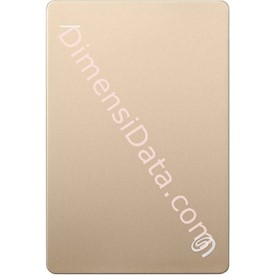 Jual Hard Drive External SEAGATE BACKUP PLUS SLIM 2.5  Inch 1TB (STDR1000309) GOLD +Pouch