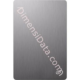 Jual Hard Drive External SEAGATE BACKUP PLUS SLIM 2.5  Inch 4TB (STDR4000301) SILVER +Pouch
