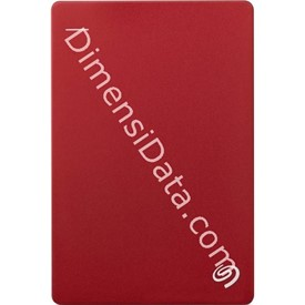 Jual Hard Drive External SEAGATE BACKUP PLUS SLIM 2.5  Inch 4TB (STDR4000303) RED +Pouch