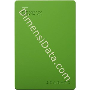 Picture of Hard Drive External SEAGATE GAME DRIVE for XBOX 2.5  Inch 2TB (STEA2000403) GREEN