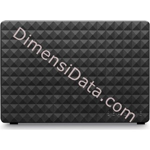 Picture of Hard Drive External SEAGATE EXPANSION DESKTOP 3.5  Inch 3TB (STEB3000300)