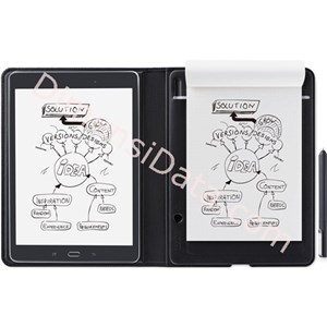 Picture of Digital Drawing Tablet WACOM Bamboo Folio A5 SmartPad CDS-610G (with holder)