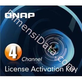 Jual IP Camera QNAP LIC-CAM-NAS-4CH